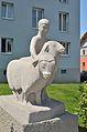 Hirte mit zwei Schafen by Franz Barwig the Younger 02.jpg
