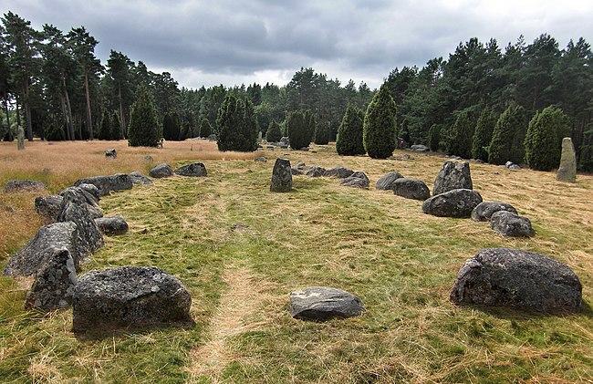 9: Hjortsberga grave field (Raä no Hjortsberga 8:1) in Hjortsberga parish, hundred of Medelstad, Ronneby municipality, Blekinge, Sweden. Achird