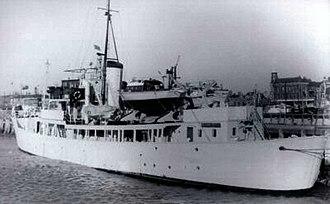 HMRC Vigilant (1947) - HMRC Vigilant in about 1959