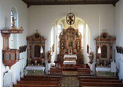 Hofstetten im Landkreis Eichstätt, Inneres der Pfarrkirche.jpg