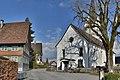 Hohenweiler Pfarrkirche St Georg 3 Denkmäler.jpg