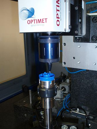 3D scanner - Using a periscope allows access into small diameter holes to measure the bottom and side walls.