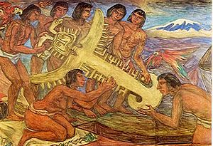 Juan Friede - Friede founded the first art gallery of Bogotá, where he exposed works of Pedro Nel Gómez, painter of indigenous rituals
