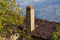 Homene Dessus, Combellin, Valle d'Aosta. Detail van oud huis 02.jpg