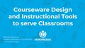 How to integrate courseware design and instructional tools into class.pdf