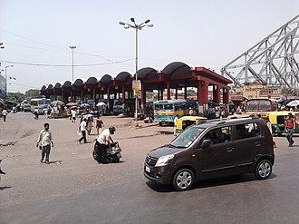 Howrah Junction railway station - Image: Howrah Bus Terminus Howrah Railway Station Area Howrah 2012 06 04 01303