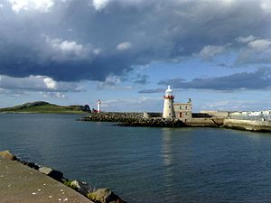 Howth - Howth Lighthouse and Ireland's Eye