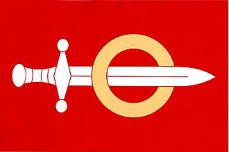 Hrochův Týnec - Image: Hrochův Týnec vlajka