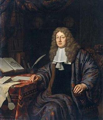 Johannes Hudde - Johannes van Waveren Hudde