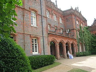 Hughenden Manor - Hughenden Manor, the entrance facade.