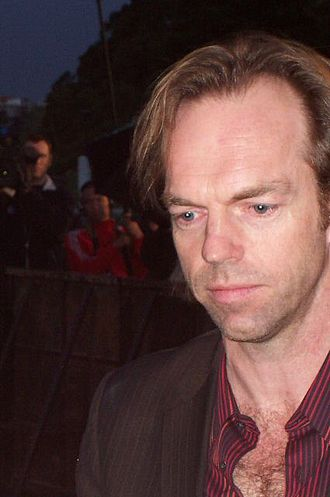 Hugo Weaving - Weaving at The Matrix Revolutions premiere, November 2003