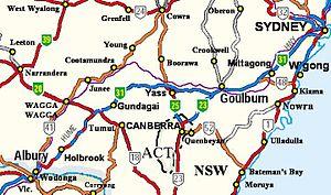 Olympic Highway - Image: Humehwy NSW