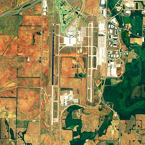 Huntsville International Airport - NAIP 2006 orthophoto