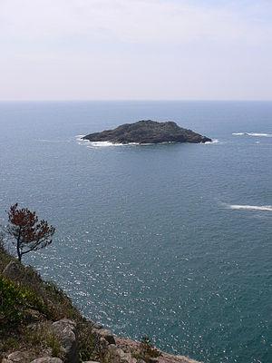 Sea of Hyūga - An island in the Hyuga-nada Sea