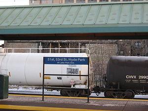 51st–53rd Street (Hyde Park) station - Hyde Park/53rd St Station