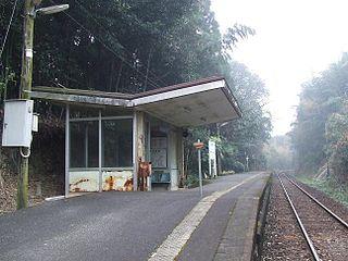 Hyūga Maeda Station Railway station in Miyakonojō, Miyazaki Prefecture, Japan