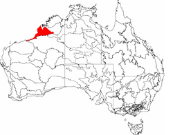 Eighty Mile Beach Lies Along The Thin South Western Extension Of Dampierland Bioregion Shown In Red