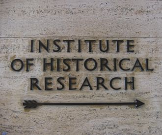 Institute of Historical Research - Image: IHR sign