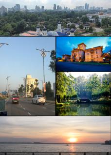 Johor Bahru City and state capital in Johor, Malaysia
