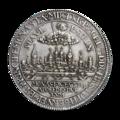 INC-1987-r Талер Мюнстер Христоф Бернгард фон Галлен 1661 г. (реверс).png