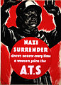INF3-114 Forces Recruitment Nazi surrender draws nearer every time a woman joins the ATS.jpg