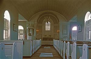 Immanuel Episcopal Church on the Green - Church interior
