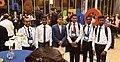 IPhO-2019 07-07 foyer team Sri Lanka.jpg