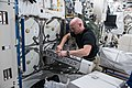 ISS-56 Alexander Gerst works inside the Kibo lab (1).jpg