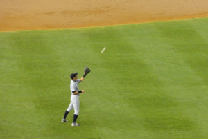 English: Ichiro Suzuki playing the Yankees at ...