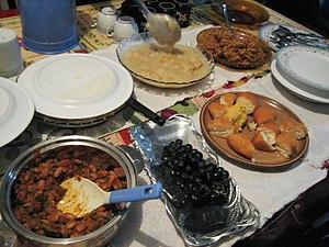 Ramadan dinner in Tanzania