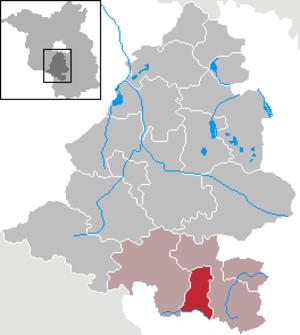 Ihlow, Brandenburg - Image: Ihlow in TF
