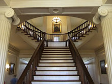 Old state capitol state historic site wikipedia first floor interior and staircase of old state capitol malvernweather Gallery