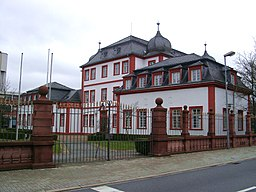 Ilvesheim, Barockschloss von 1700, heute genutzt als Schule für Blinde