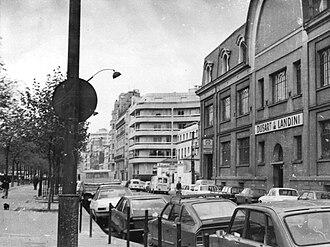 Boulevard Richard-Lenoir - Image: Immeuble 63 Boulevard Richard Lenoir, Paris 1981 002