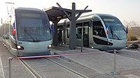 Inauguration de la branche vers Vieux-Condé de la ligne B du tramway de Valenciennes le 13 décembre 2013 (063).JPG