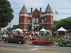 July 4th celebrations at the Grayson County Courthouse, 2006