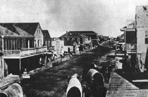 Indianola, Texas - Indianola, Texas in 1875