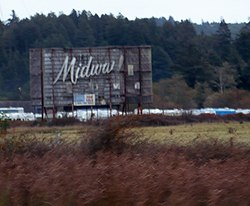 former Midway Drive-In, Indianola