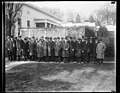 Industrial men meet Hoover. Another conference called by President Hoover was held at the White House this morning. This time it was a group of the leading industrial heads of the country. LCCN2016889506.jpg