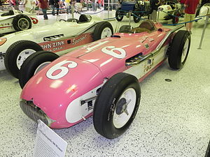 1955 Indianapolis 500 - Winning car of the 1955 Indianapolis 500
