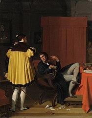 Aretino and Charles V's Ambassador