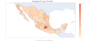 Inmigración en México por Estados.png