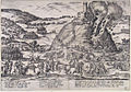 Inname van Godesberg - Capture and destruction of Godesburg in 1583 (Frans Hogenberg) Edit 3.jpg