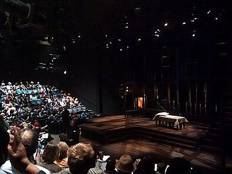 Court Theatre (Chicago) - Image: Inside Court Theatre, Chicago