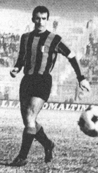Armando Picchi - Picchi in action as Inter Milan captain in the 1960s