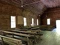 Interior, Smokemont (Oconaluftee) Baptist Church, Great Smoky Mountains National Park, Smokemont, NC (49112954562).jpg