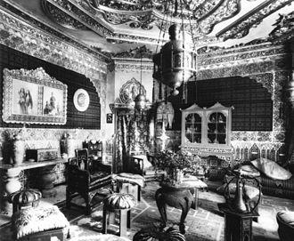 Casa Vicens - Interior Casa Vicens