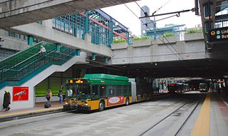 International District/Chinatown station Light rail station in Seattle, Washington