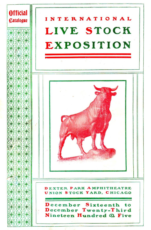 International Live Stock Exposition Catalogue, Chicago 1905
