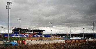 Caledonian Stadium - Image: Inverness stadium a 2